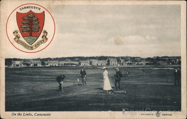 On the Links Carnoustie Scotland
