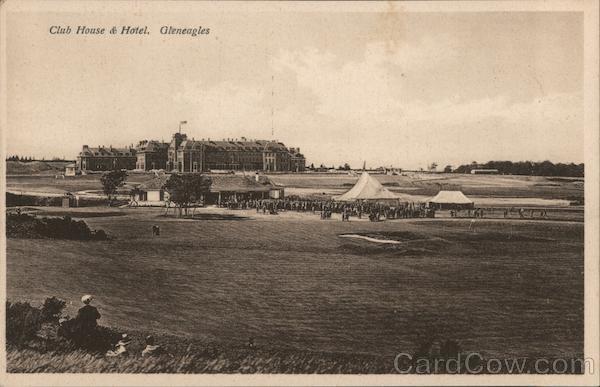 Club House & Hotel, Gleneagles Scotland