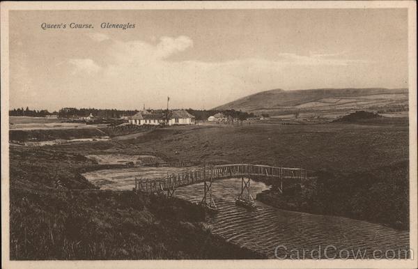 View of Queen's Course Gleneagles Scotland