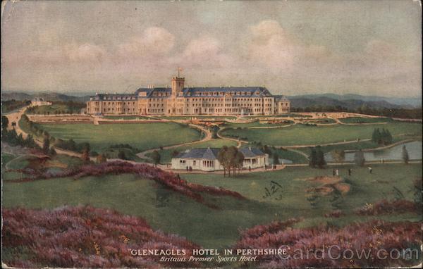 Gleneagles Hotel in Perthshire Scotland
