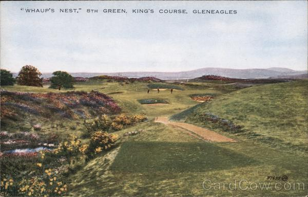 Whaup's Nest, 8th Green, King's Course Gleneagles Scotland