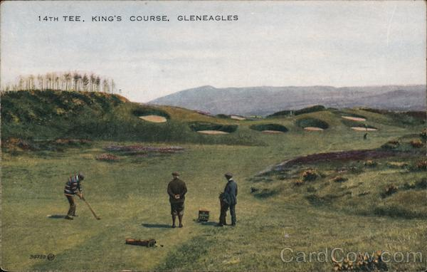 14th Tee, King's Course Gleneagles Scotland