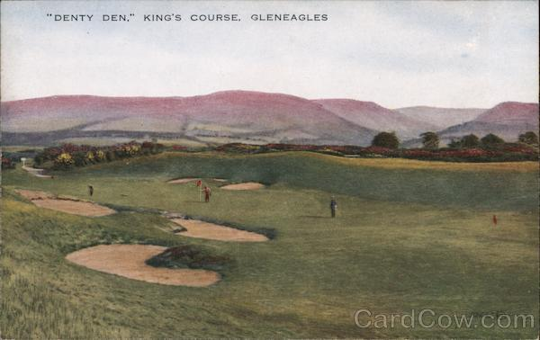 Denty Den, King's Course Gleneagles Scotland