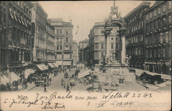 High Market Vienna Austria