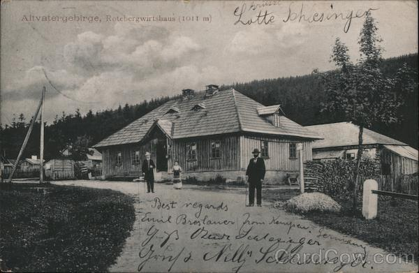 Altvatergebirge, Rotebergwirtshaus (1011 m) Czech Republic