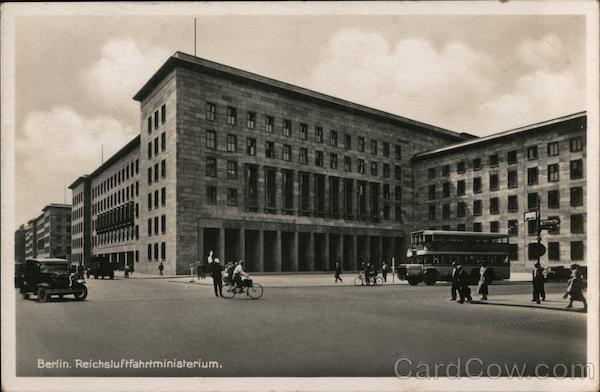 Reich Air Force Ministry Building Berlin Germany