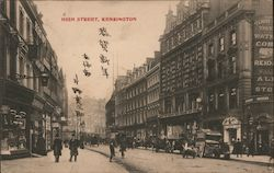 High Street, Kensington - Mailed to Japan