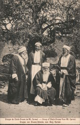 Group of Sheik -Druses from Mt. Carmel