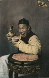 """The Happiest Man in China"" Postcard"