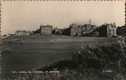 1st Green, Old Course