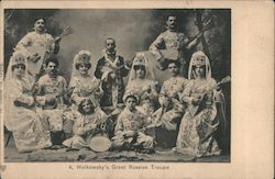 A. Wolkowsky's Great Russian Troupe