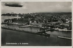 Freidrich's Port on Lake Constance Aerial View