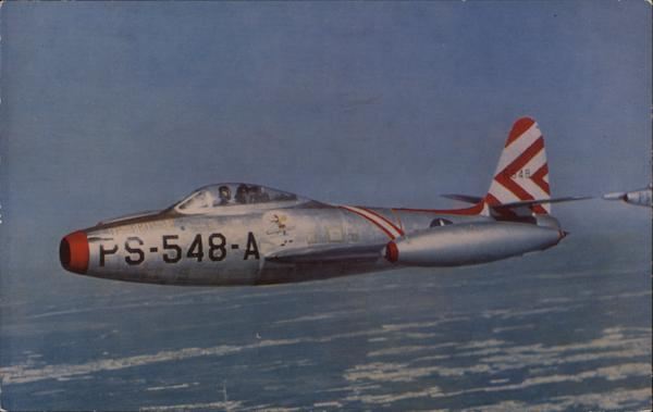 Republic Thunder Jet F-84 - US Air Force