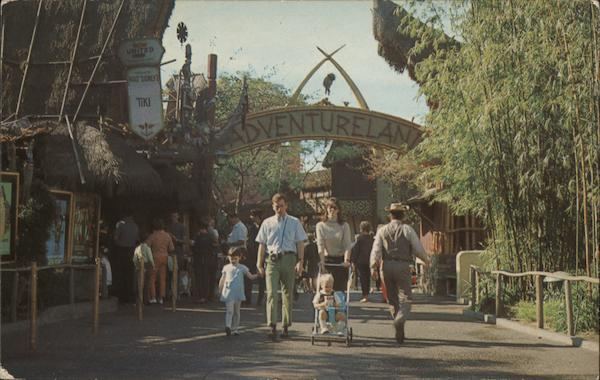 Adventureland, Disneyland, The Magic Kingdowm