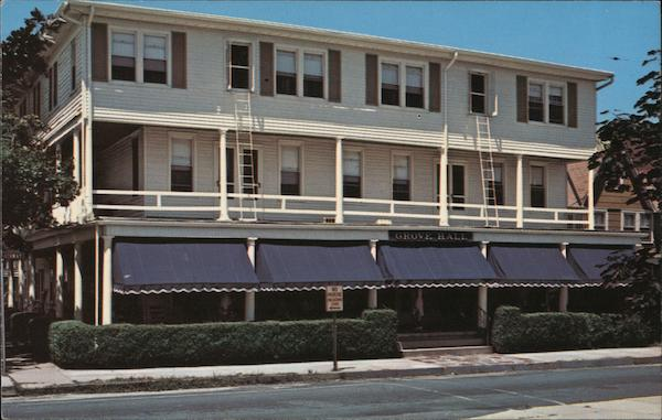 Grove Hall Hotel Ocean Grove New Jersey