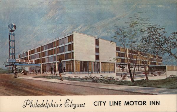 City Line Motor Inn Philadelphia Pennsylvania