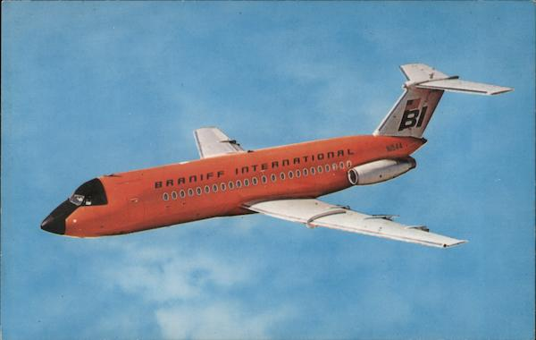 Braniff International Airline Advertising
