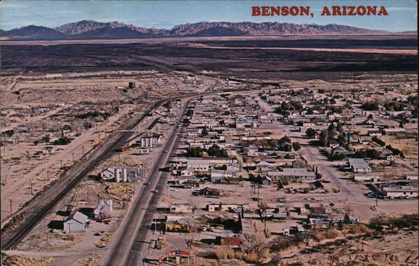 Aerial View of Benson, Arizona Bob Petley