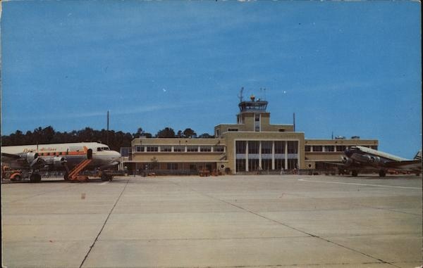 Administration Building, Norfolk Municipal Airport Virginia