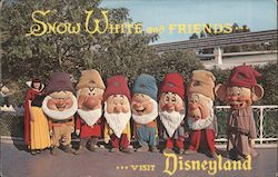 Snow White and Freinds Visit Disneyland.