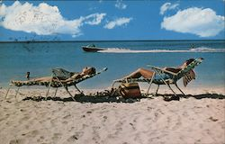 Climate, Oceans and Beaches at Aruba Postcard