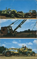 National School of Heavy Equipment Operation Postcard