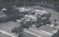 Aerial View of Veterans Hospital