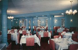 Ardmore Hotel's Spacious Dining Room Postcard
