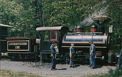 Train at Woodland Museum