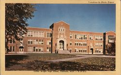 Luther Wright High School Postcard
