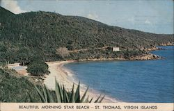 Beautiful Morning Star Beach Postcard