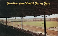 Grandstand and Track, Kent and Sussex Fair