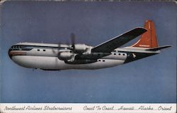 Northwest Airlines Stratocruisers Postcard