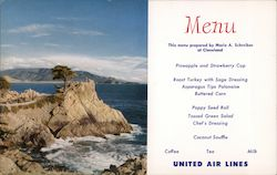 United Menu Lone Cypress Tree on the Lovely Monterey Peninsula