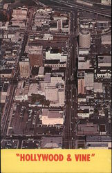 Aerial View of Hollywood & Vine