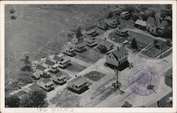 Aerial View of Tupper's - 19 Heated Cabins with Hot Water & Showers - US Highway One