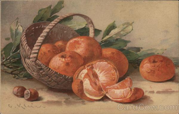 Basket of Oranges C. Klein Fruit