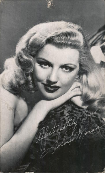Affectionately Yours, Dolores Moran -- Warner Brothers