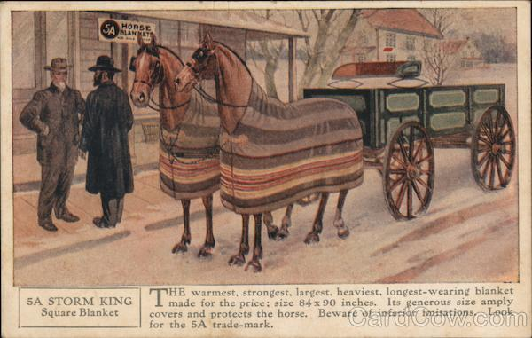 5A Horse Blankets Advertising