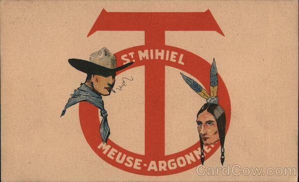 St. Mihiel Meuse-Argonne : Cowboy and Indian Cowboy Western