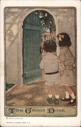 Children at the Green Door