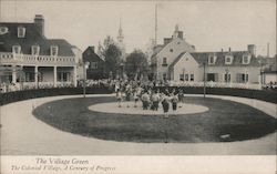 The Village Green, A Colonial Village, A Century of Progress, Chicago