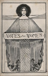Vote For Woman Suffrage Oct. 10, 1911 California Proposition 4