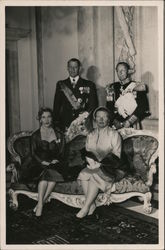Portrait of Netherlands Royal Family