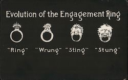 Evolution of the Engagement Ring
