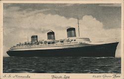 SS Normandie - French Line