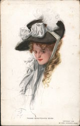 Drawing of Woman: Those Bewitching Eyes