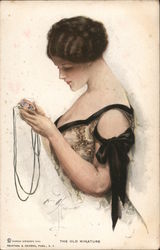 The Old Miniature: Woman Looking at Locket