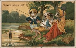 Love's Labour Lost - Hampsters Fishing