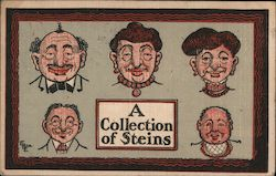 A Collection of Steins Postcard